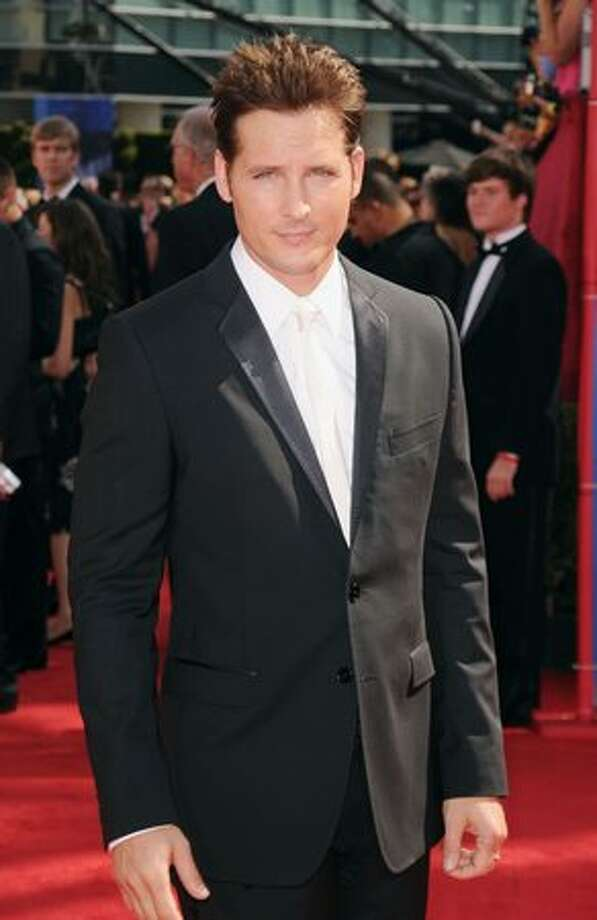 Actor Peter Facinelli arrives. Photo: Getty Images