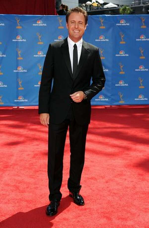 TV personality Chris Harrison arrives. Photo: Getty Images