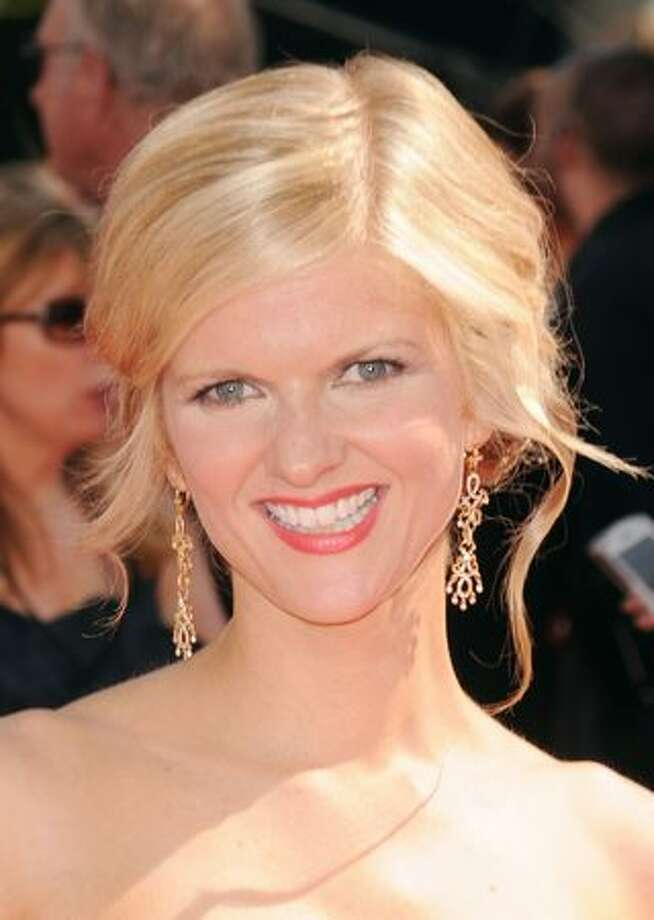 Actress Arden Myrin arrives. Photo: Getty Images