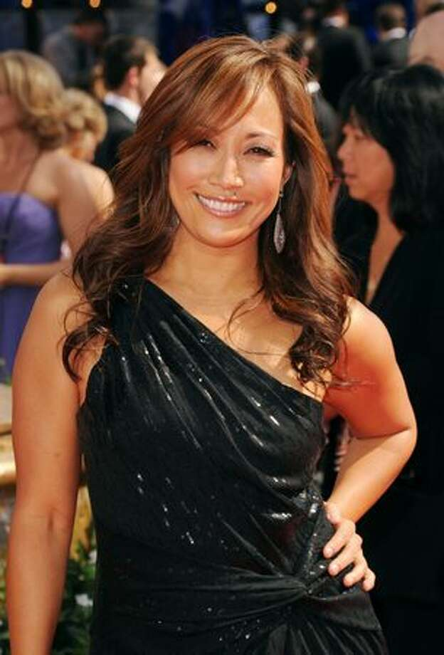 TV personality Carrie Ann Inaba arrives. Photo: Getty Images
