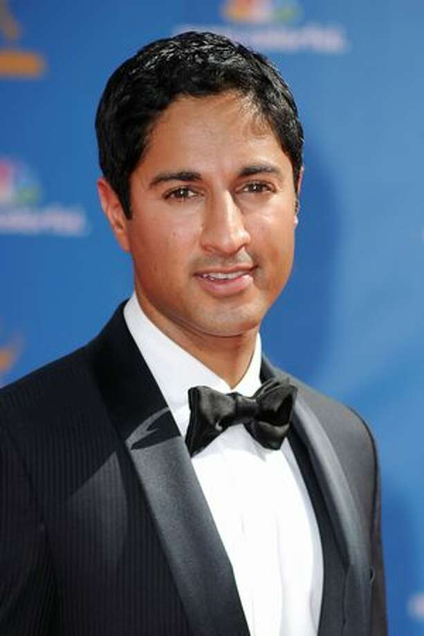 Actor Maulik Pancholy arrives. Photo: Getty Images