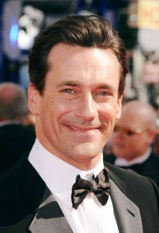 Actor Jon Hamm arrives. Photo: Getty Images
