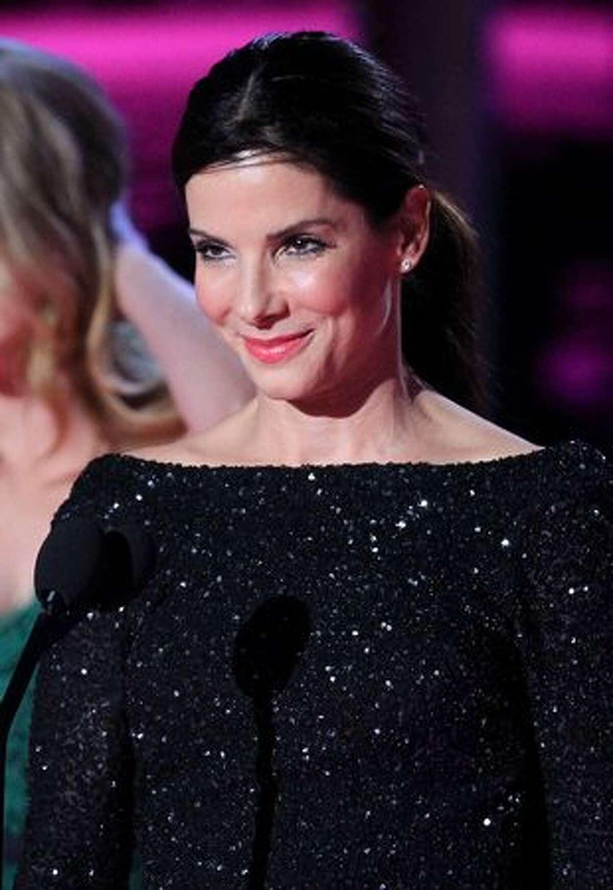 Sandra Bullock, June 6, 2010, age 45.