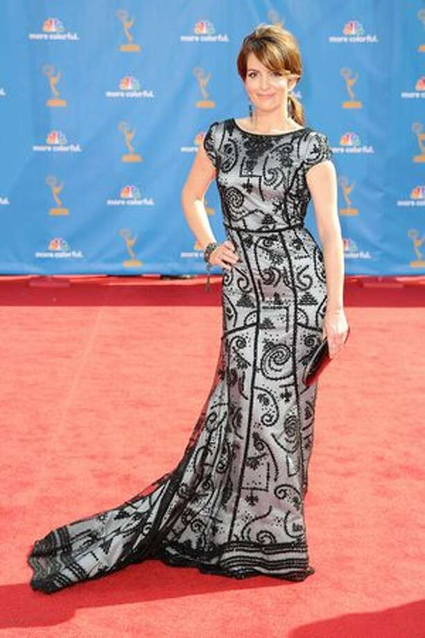 Actress/writer Tina Fey arrives. Photo: Getty Images