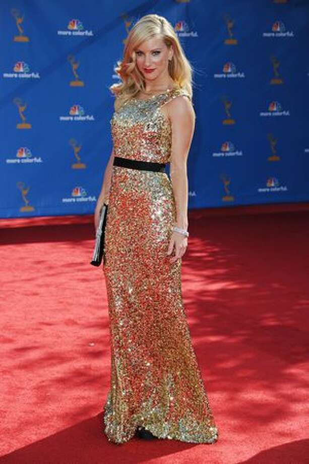 Actress Heather Morris arrives. Photo: Getty Images