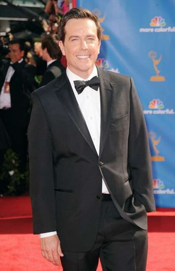 Actor Ed Helms arrives. Photo: Getty Images