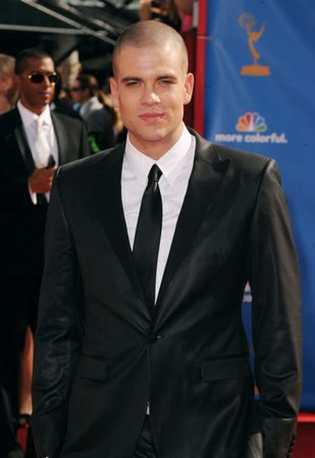 Actor Mark Salling arrives. Photo: Getty Images