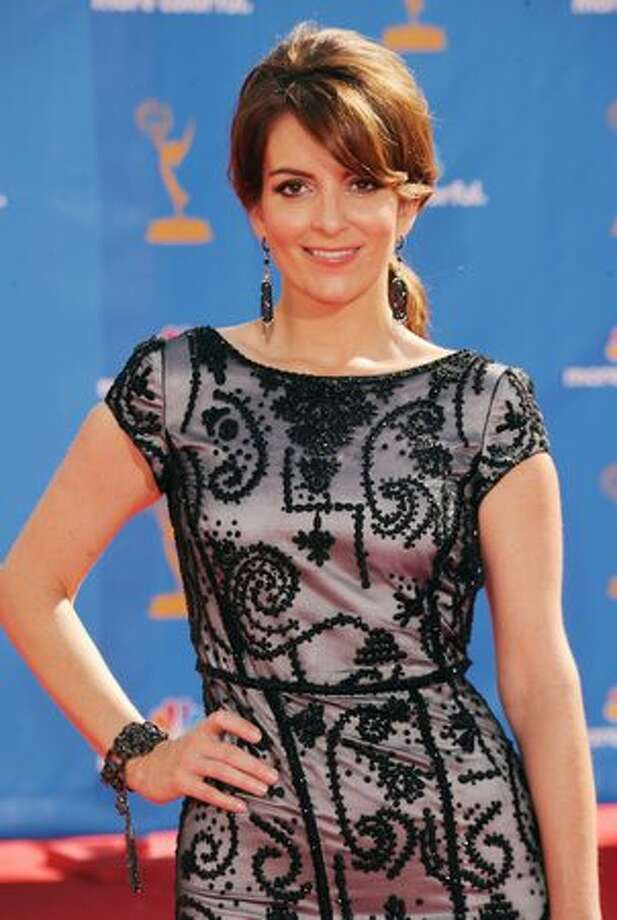 Actress Tina Fey arrives. Photo: Getty Images