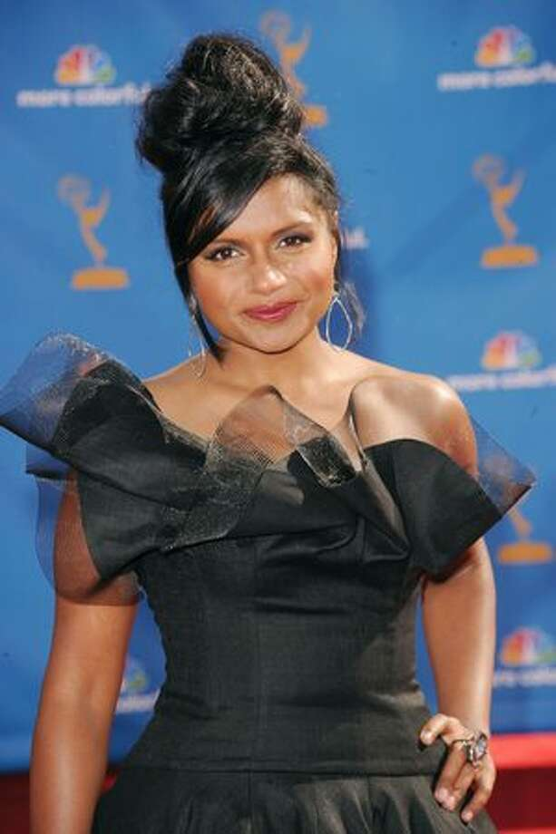 Actress Mindy Kaling arrives. Photo: Getty Images