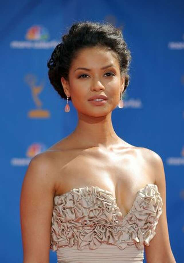 Actress Gugu Mbatha-Raw arrives. Photo: Getty Images