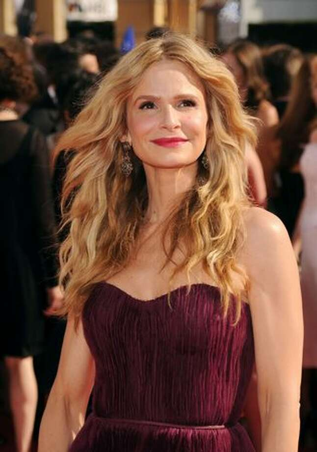 Actress Kyra Sedgwick arrives. Photo: Getty Images