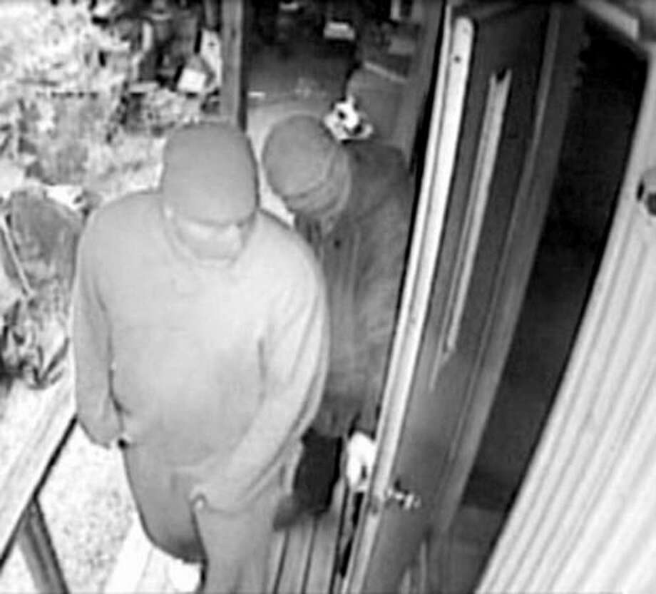 A surveillance image from an August 19 Vashon Island home-invasion robbery in the 9400 block of Southwest Gorsuch Road. Read more about the robbery here. (Photo from King County Sheriff's Office) Photo: P-I File