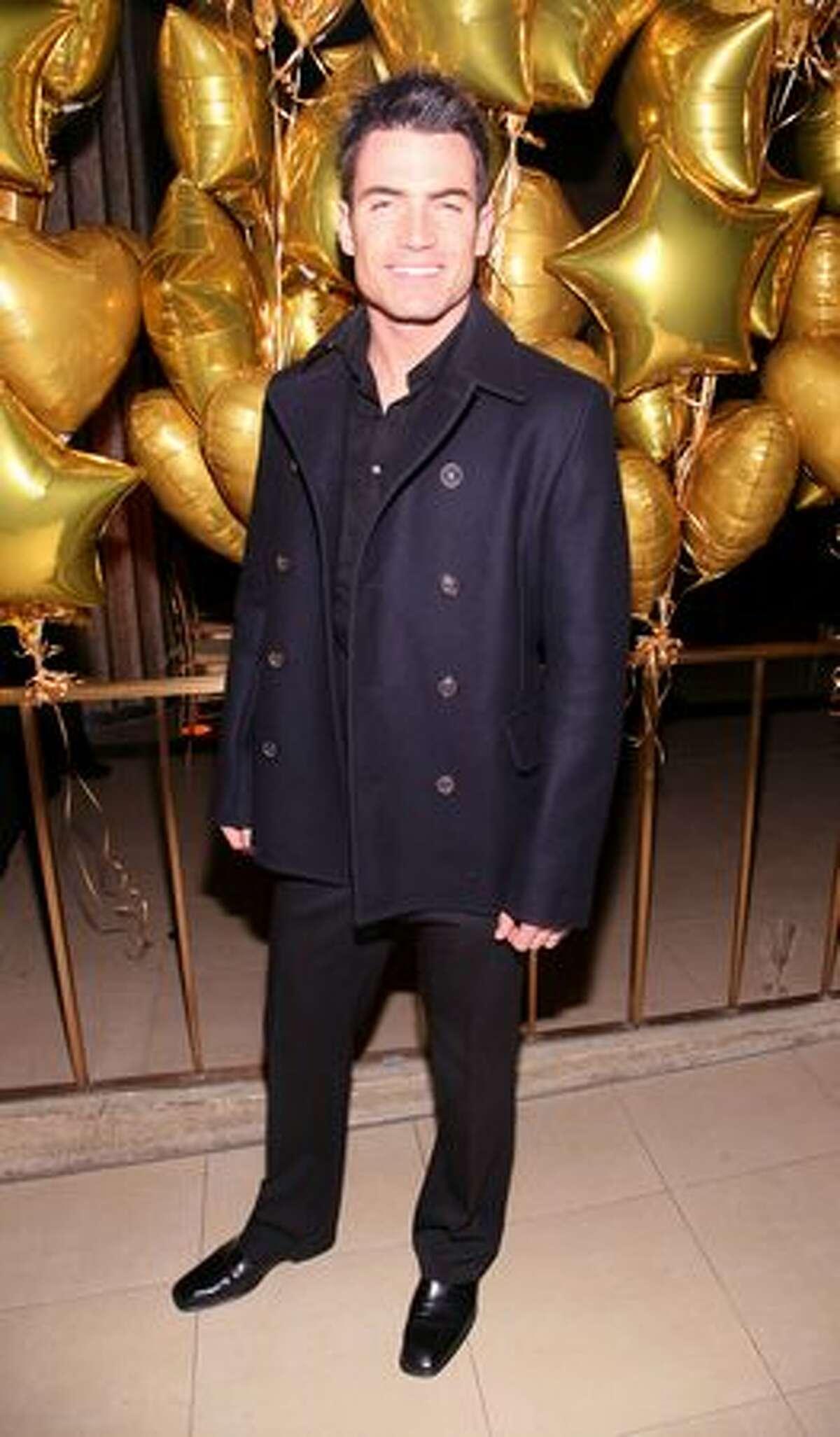 TV soap opera star Aiden Turner.