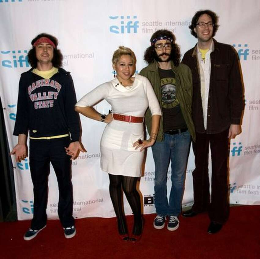 Thee Emergency on the red carpet for the premiere of Lynn Shelton's MTV mini-series