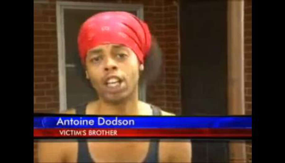"Antoine Dodson, the ""Bed Intruder"" song  Little thing: An interview with a local TV station about an intruder in his sister's house Big exposure: A musical version of the segment by the guys at Auto-Tune the News Big payoff: ""Hide yo' kids, hide yo' wife"" T-shirts, a YouTube Q&A series, 76,000 Facebook fans, enough money to move"