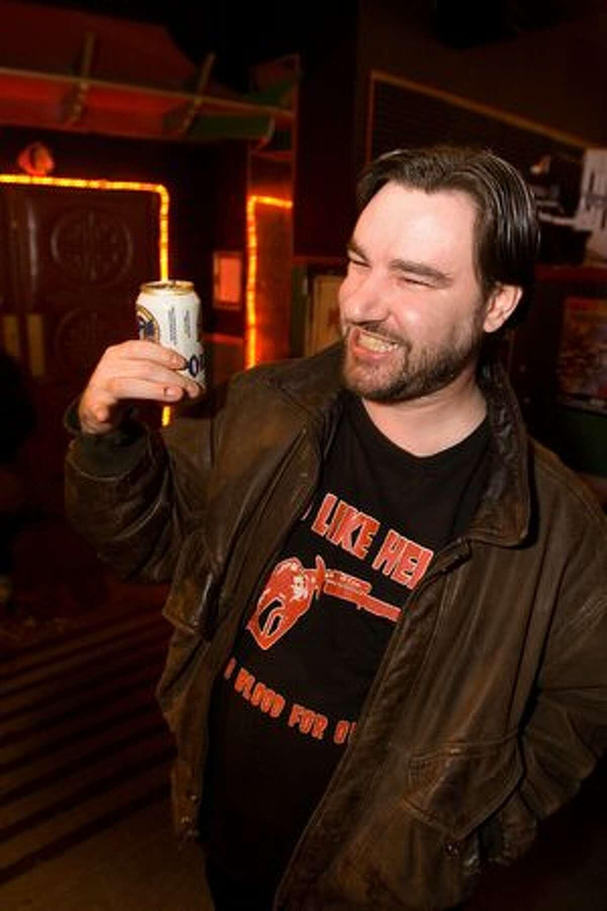 Joe Iron at Chop Suey's Laff Hole on March 3, 2010.