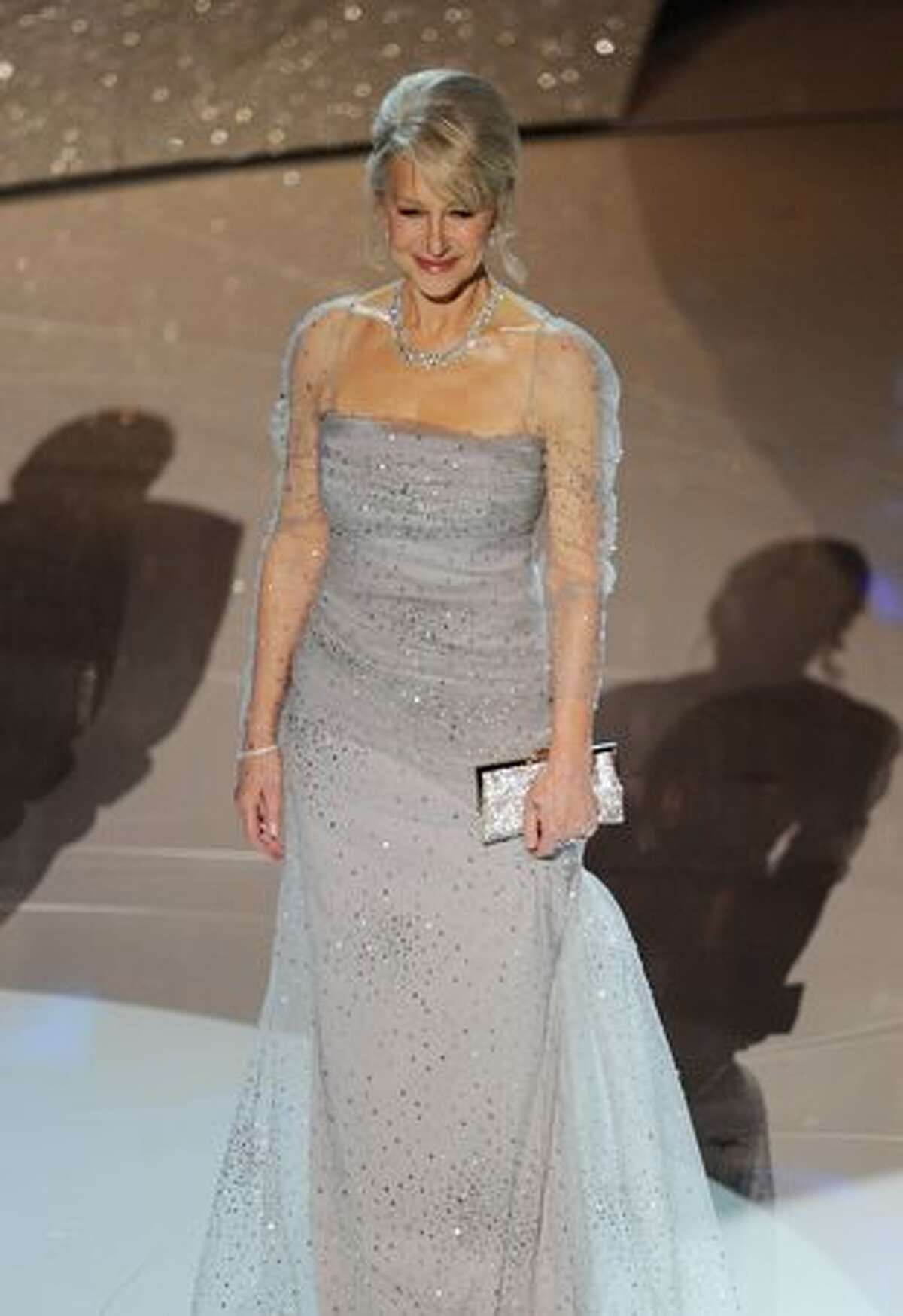 Actress Helen Mirren onstage during the 82nd Annual Academy Awards held at Kodak Theatre in Hollywood, California.