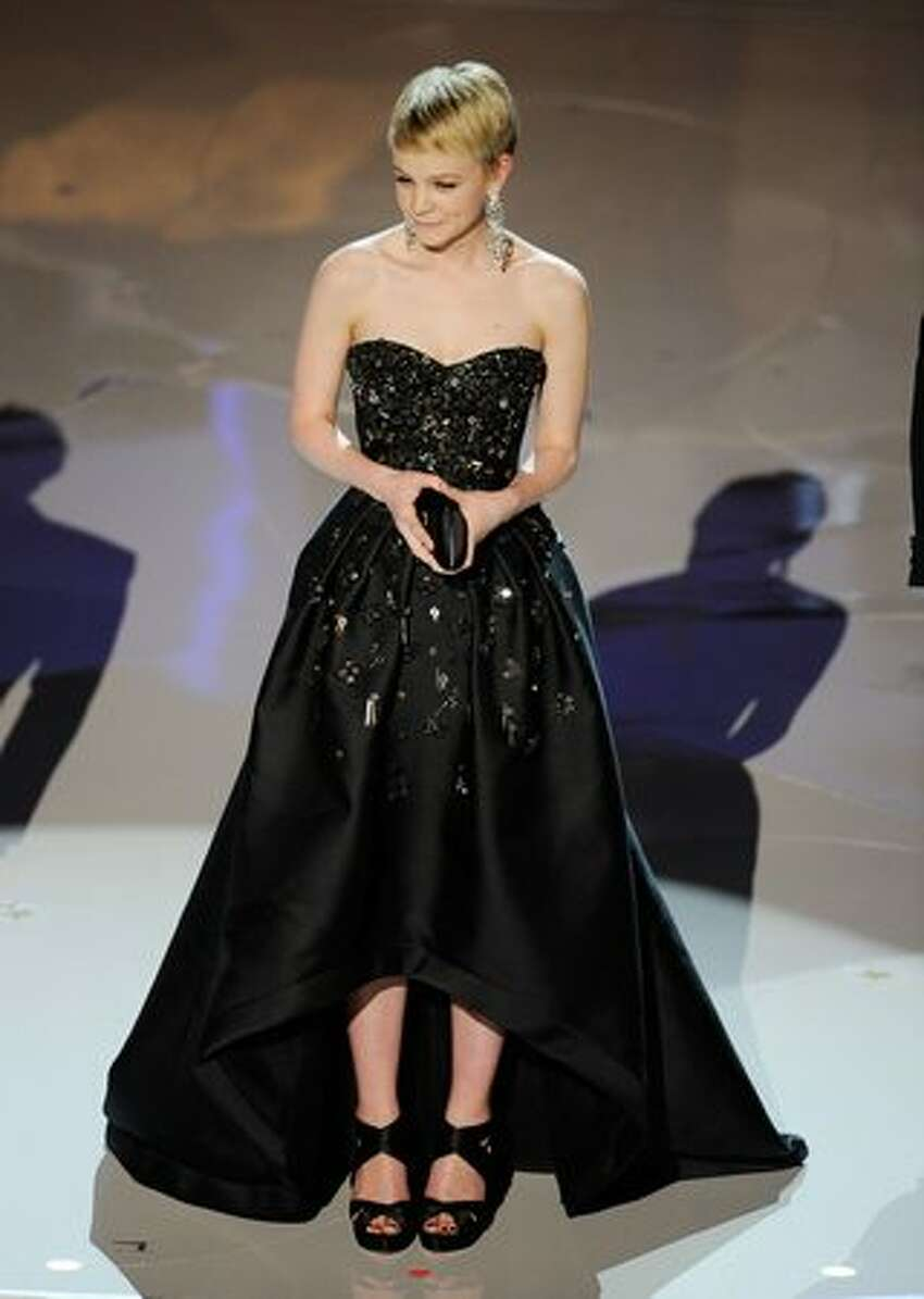 Actress Carey Mulligan onstage during the 82nd Annual Academy Awards held at Kodak Theatre in Hollywood, California.