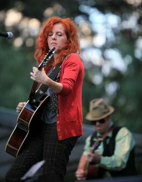 Neko Case, a native of Tacoma, performs on the Bumbershoot Mainstage on Saturday.