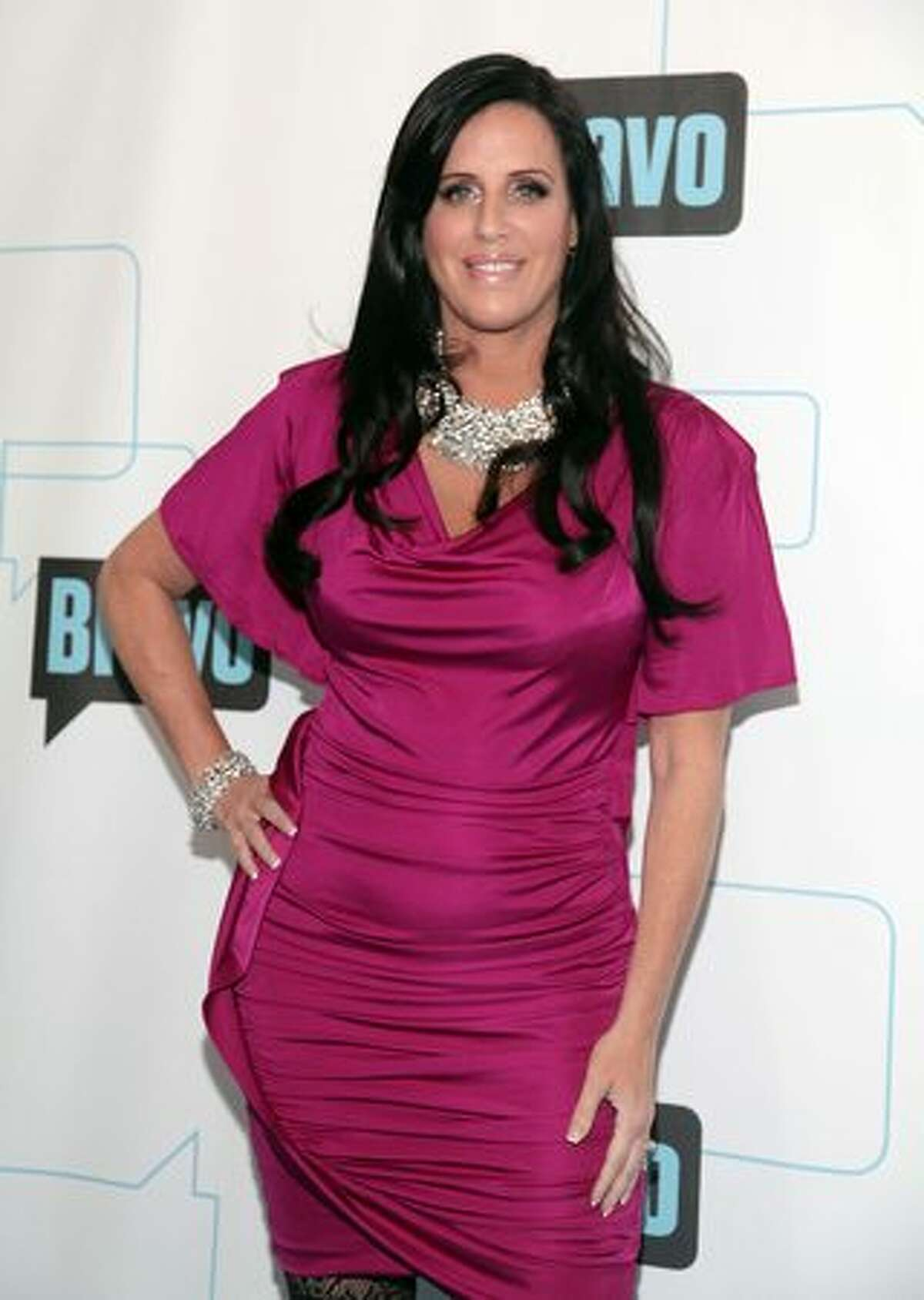 TV Personality Patti Stanger attends Bravo's 2010 Upfront Party at Skylight Studio in New York City.