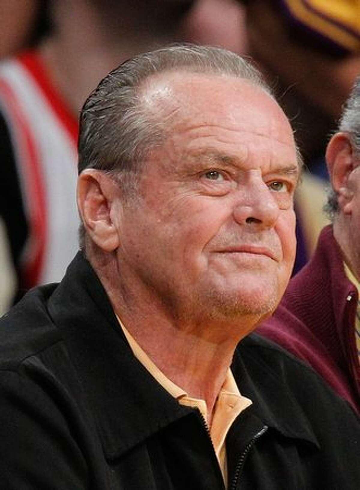 Jack Nicholson, May 19, 2010, age 73.