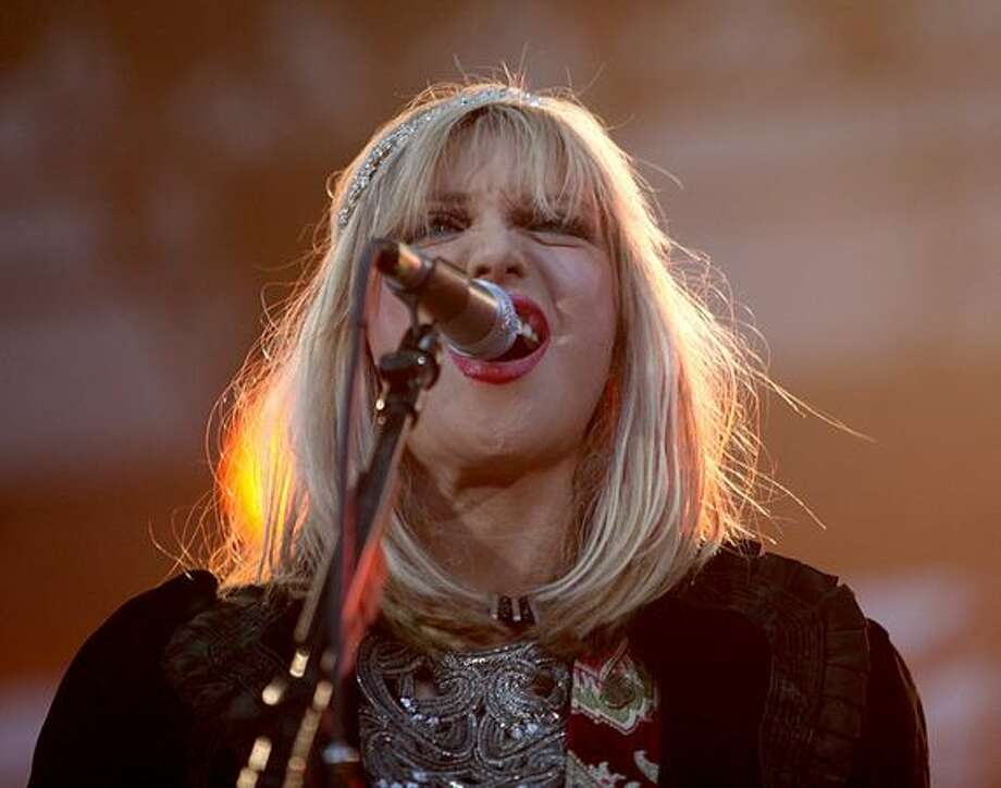 Courtney Love of Hole performs during Bumbershoot. Photo: Cliff DesPeaux, Special To Seattlepi.com