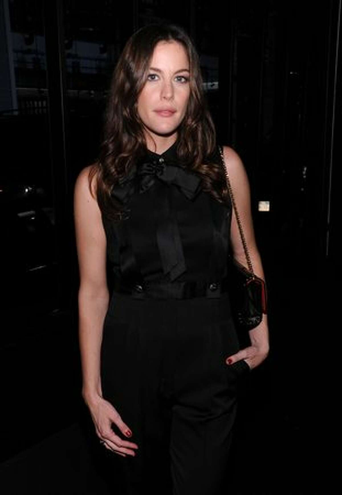 Actress Liv Tyler attends the reopening of the CHANEL SoHo Boutique at the Chanel Boutique Soho in New York City.