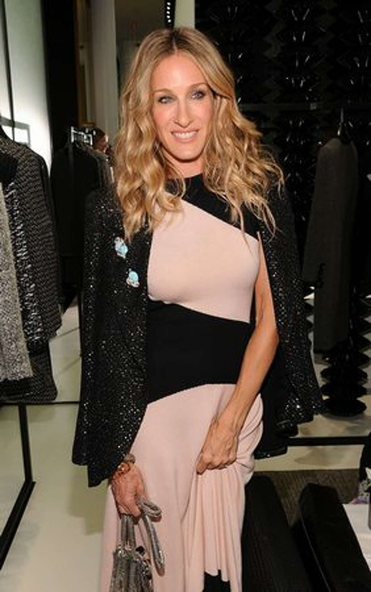 Actress Sarah Jessica Parker attends the reopening of the CHANEL SoHo Boutique at the Chanel Boutique Soho in New York City.