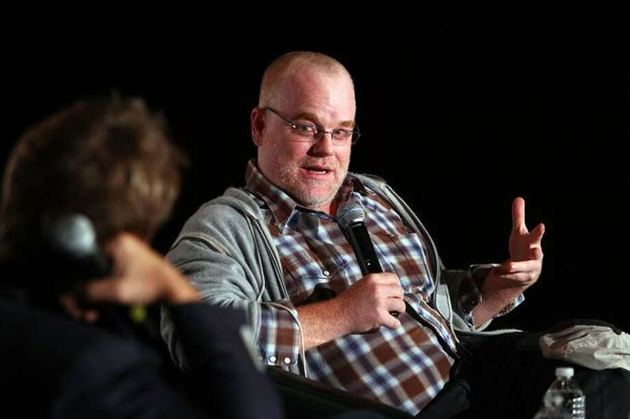 """""""In Conversation with Phillip Seymour Hoffman"""" is held at Jackman Hall in 2010 during the 35th Toronto International Film Festival in Toronto, Canada. Photo: Getty Images"""