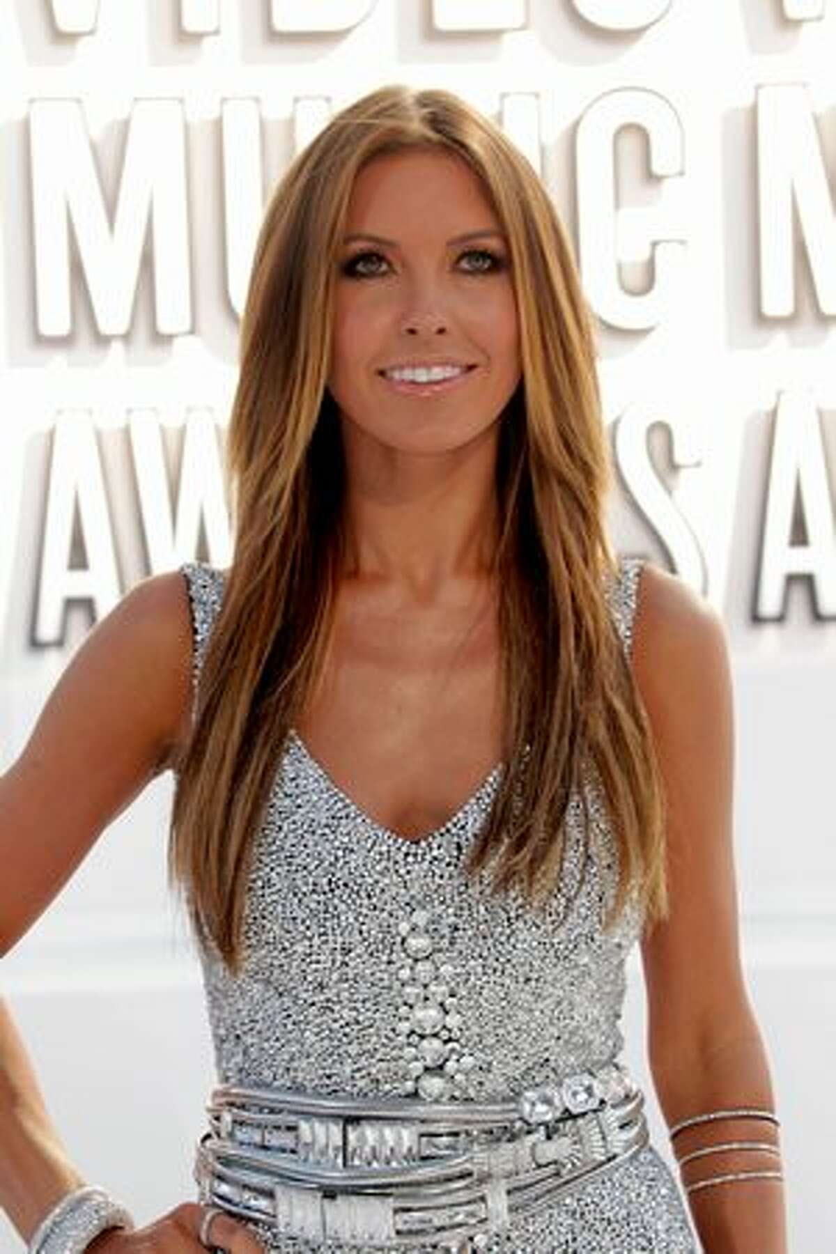 Actress Audrina Patridge arrives at the 2010 MTV Video Music Awards at NOKIA Theatre L.A. LIVE in Los Angeles on Sunday, Sept. 12, 2010.
