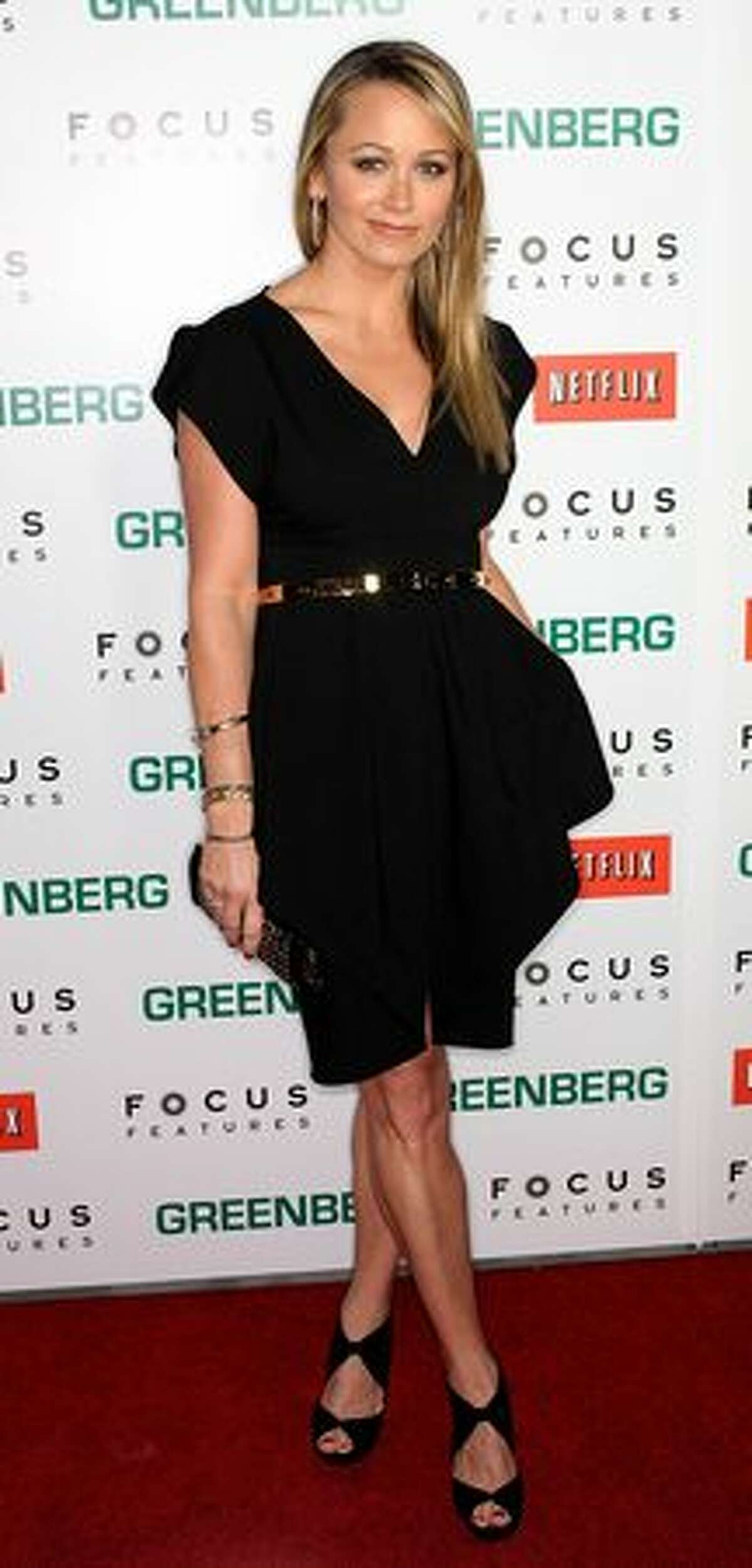 Actress Christine Taylor attends the premiere of ''Greenberg'' at the ArcLight Hollywood Cinemas in Hollywood, California.