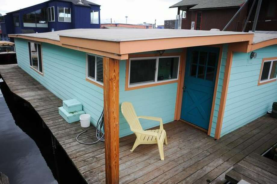 A floating home that was part of a 2010 floating homes tour in Seattle.  Photo: Elliot Suhr, Seattlepi.com