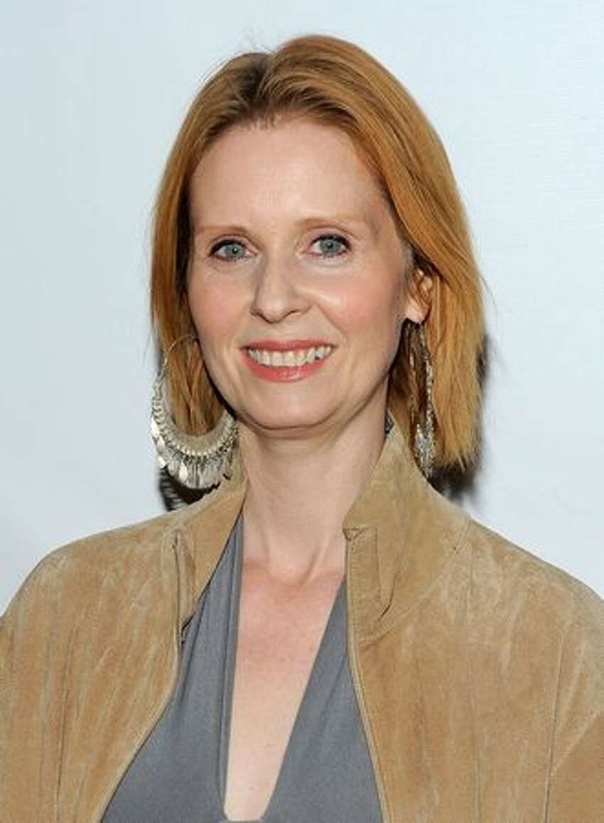 Actress Cynthia Nixon attends the Broadway opening of