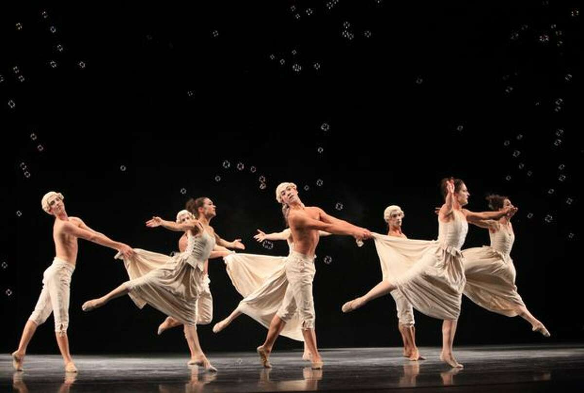 Pacific Northwest Ballet dancers perform