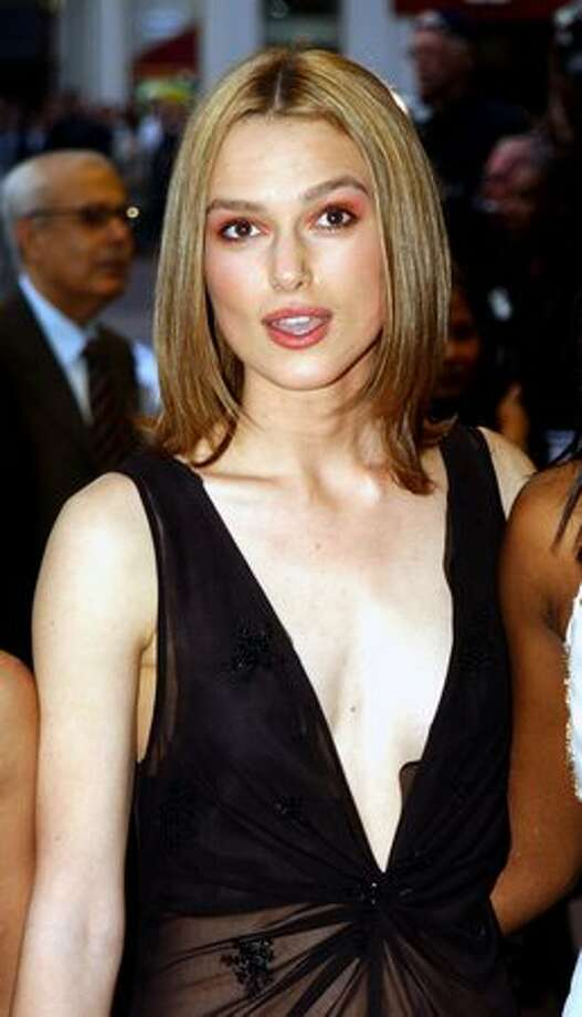 "This is the 21st in an occasional series featuring stars and their ever-changing fashion styles Actress Keira Knightley, then 17, arrives at the premiere of the film that launched her to international stardom, ""Bend It Like Beckham,"" on April 11, 2002 in London. As you'll see in this gallery, Knightley has grown from a fondness for skinny jeans to a rewarding embrace of Chanel and other major labels. Now 25, Knightley is known as one of the film world's most fashionable stars as well as an accomplished actress. Photo: Getty Images"