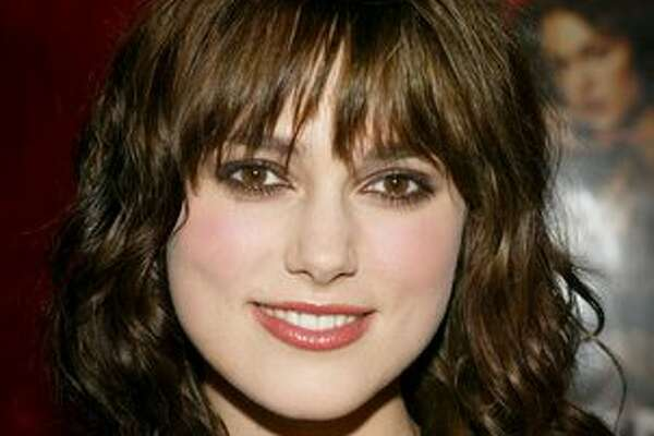 "Keira Knightley attends the world premiere of ""King Arthur"" at the Ziegfeld Theatre in New York on June 28, 2004."