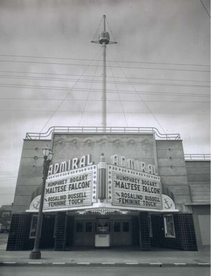 The Admiral Theater in West Seattle, 1942. Photo: P-I File