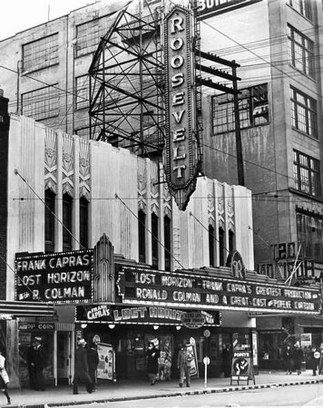 The Roosevelt Theater in September 1937. The theater was first opened in 1933 on Pike Street near Fi