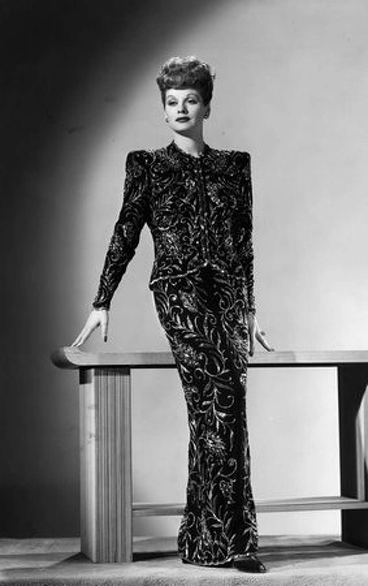Lucille Ball (1911-1989), queen of American comedy who had a prolific film career in the '30s, '40s and '50s before migrating to television. Notable role in the decade: Sally Elliott in