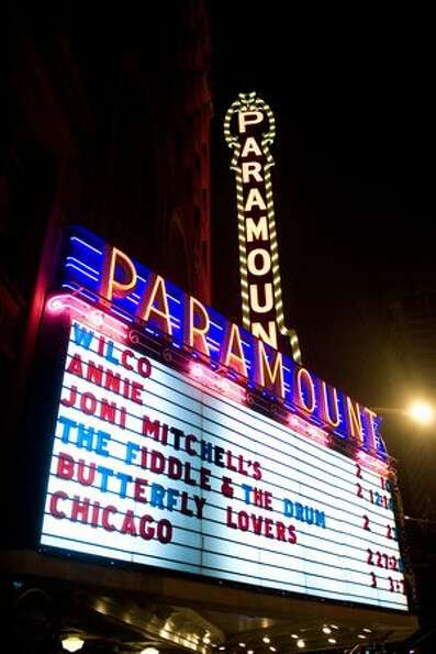 The Paramount Theatrem, Feb. 10, 2010.