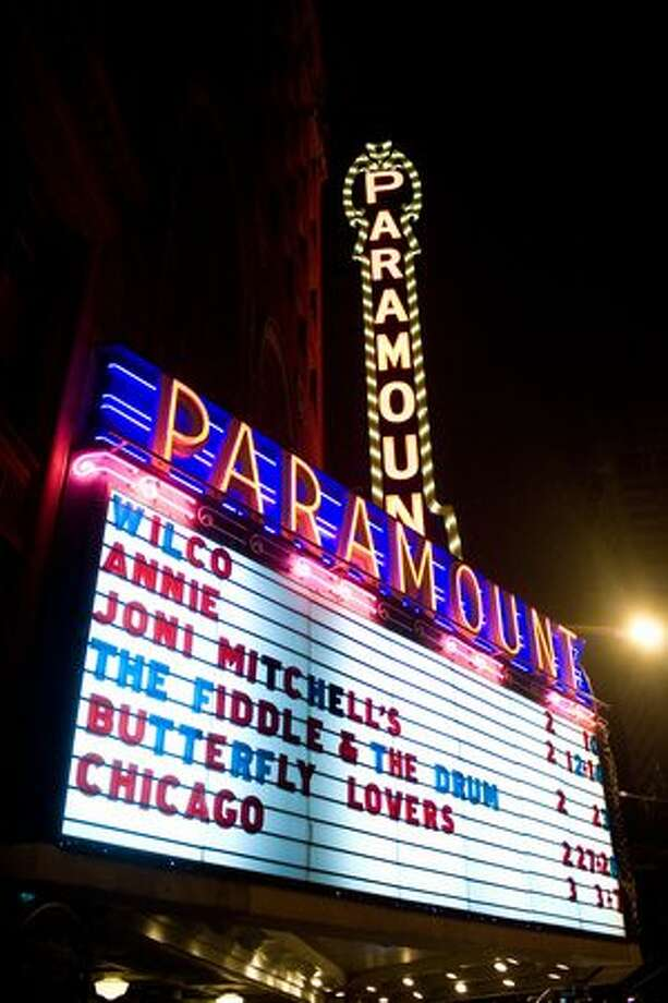 The Paramount Theatrem, Feb. 10, 2010. Photo: P-I File