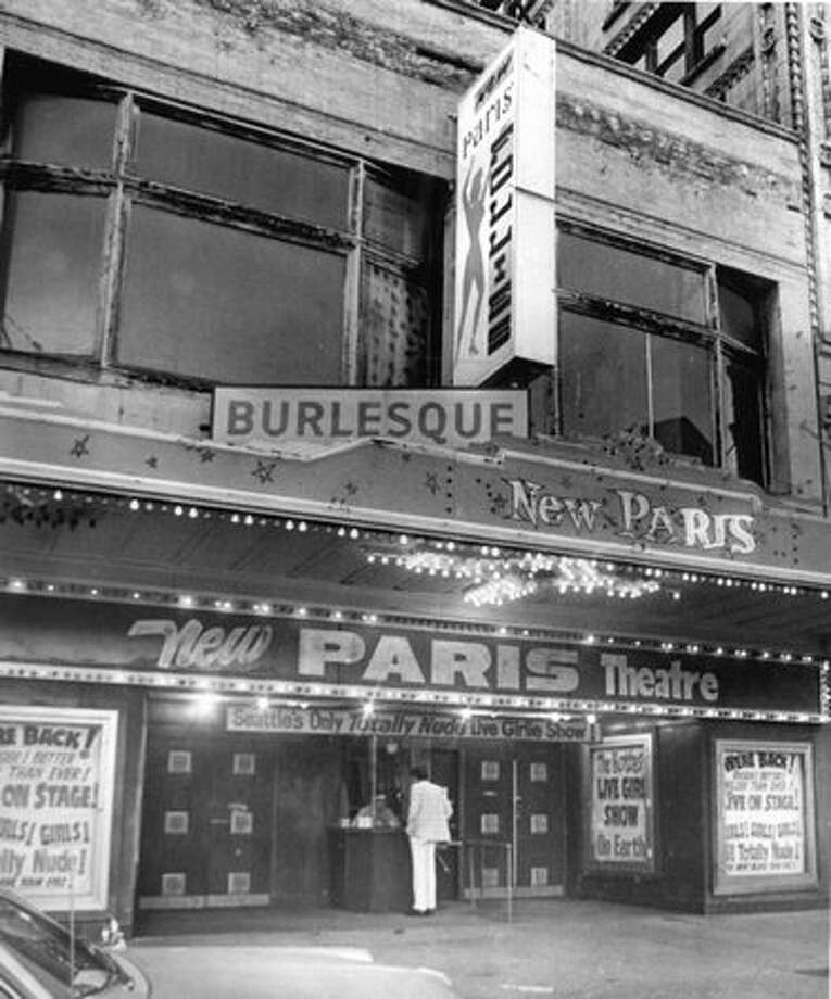 The New Paris Theatre closed on April 18, 1977. Photo: P-I File