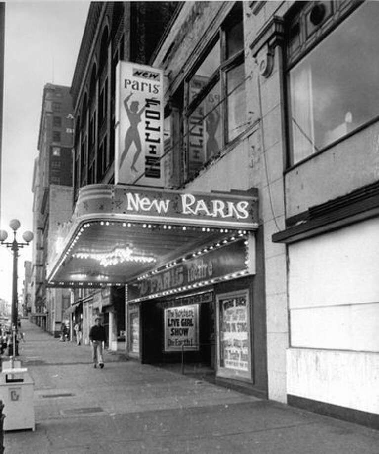 The New Paris Theatre closed on April 18, 1977. Photo: P-I File