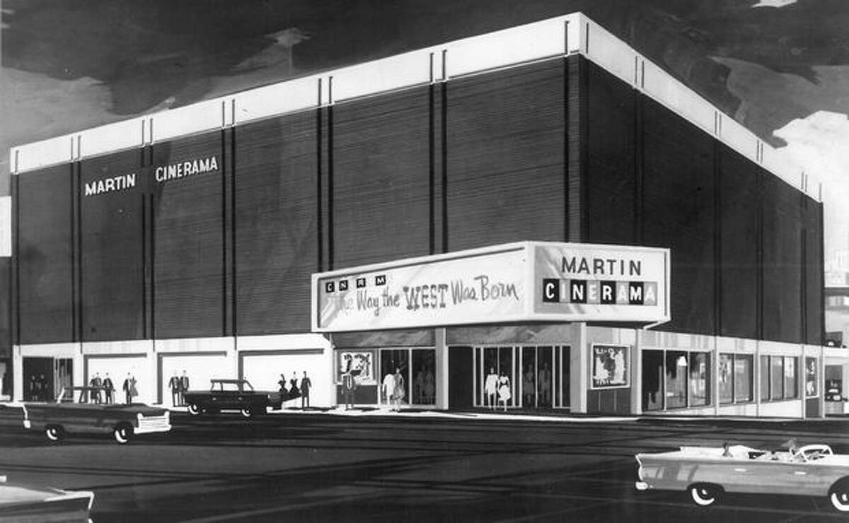 Cinerama's proposal on 4th Avenue and Lenora Street, 1962.
