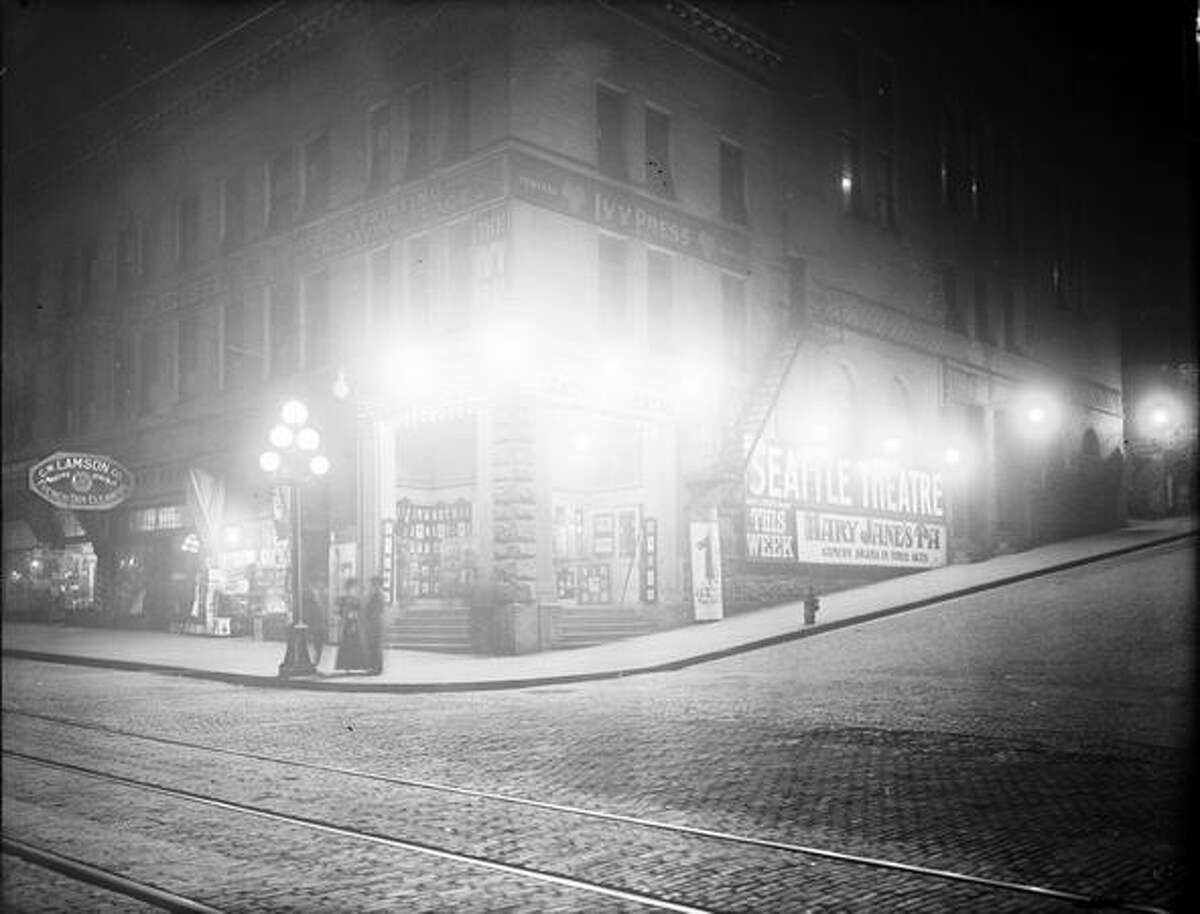 The Seattle Theater, Apr 10, 1914. (Seattle Municipal Archives)