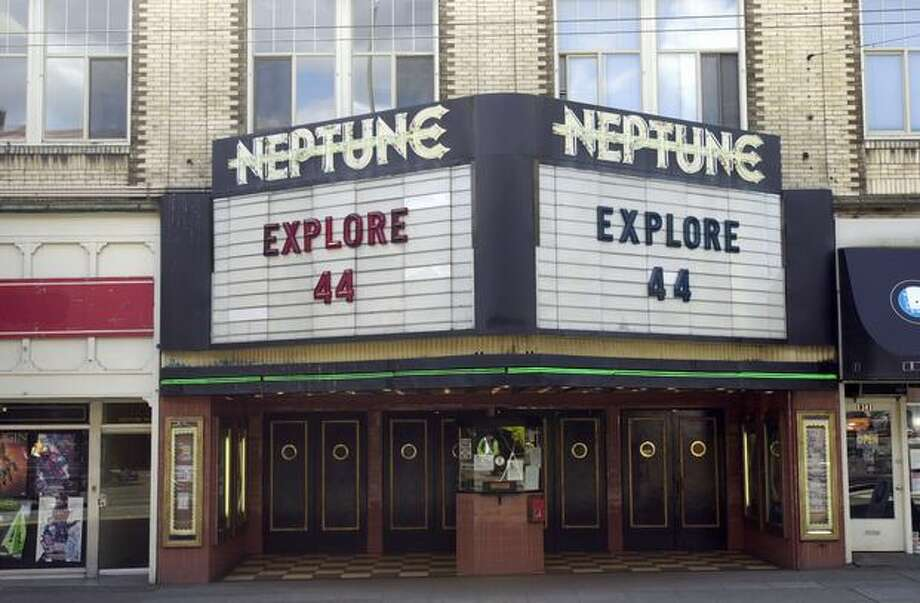 The Neptune Theater in the University District, April 23, 2002. (Seattle Municipal Archives) Photo: P-I File