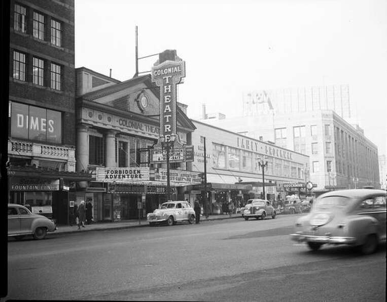 The Colonial Theater at 1515 4th Avenue, Jan. 30, 1948. (