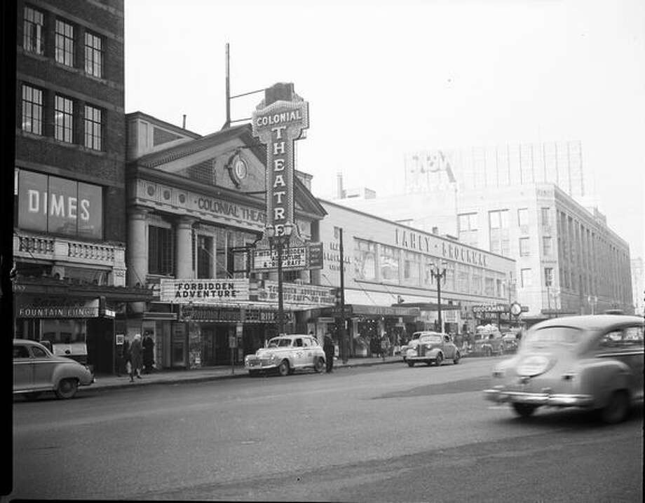 The Colonial Theater at 1515 4th Avenue, Jan. 30, 1948. (Seattle Municipal Archives) Photo: P-I File