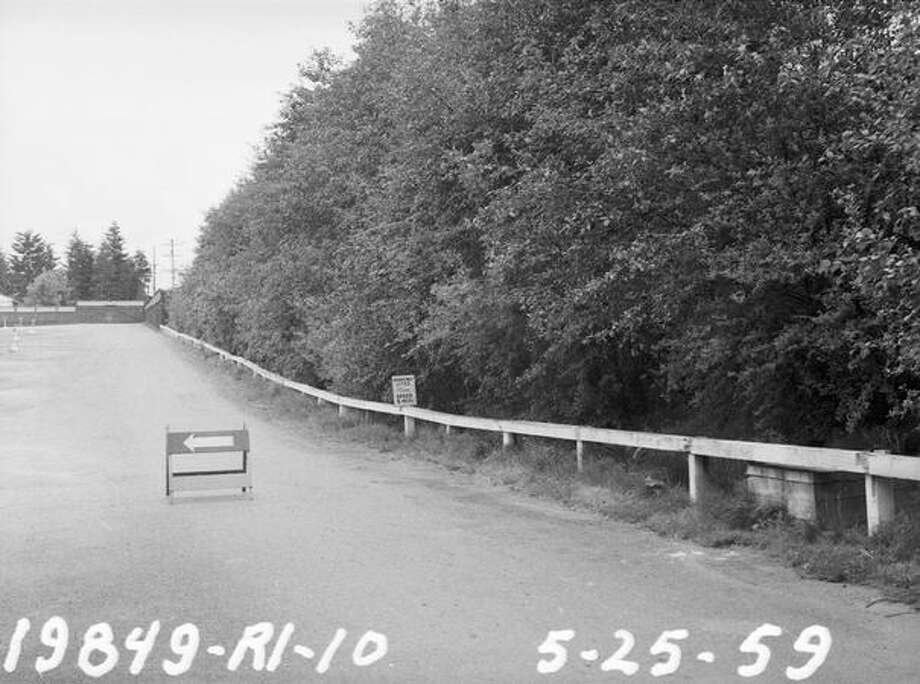 The Aurora Drive-In, May 25, 1959. (Seattle Municipal Archives) Photo: P-I File