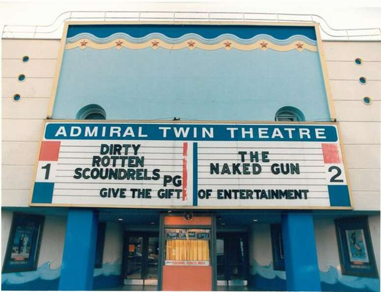 The Admiral Twin Theatre in West Seattle, Jan. 26, 1989.